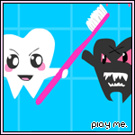 Plaque Attack - Flash Game by steffne