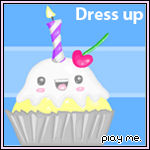 Shiney Yummy Cake Dress Up Fun