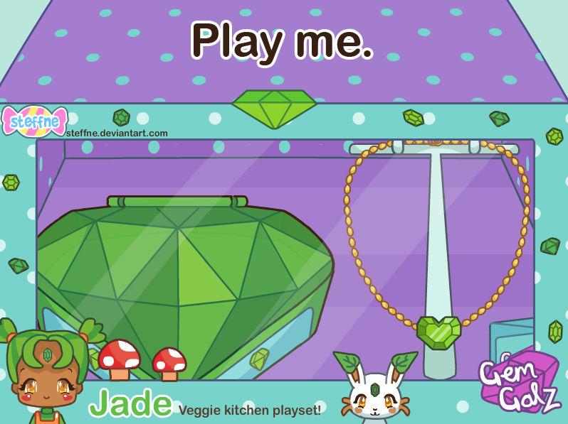GemGalz - Jade playset