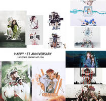 [PSD] 1 YEAR WITH DEVIANTART