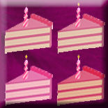 Zip File Four Pink Cake Avatars