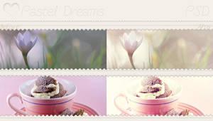 Pastel Dreams - Psd