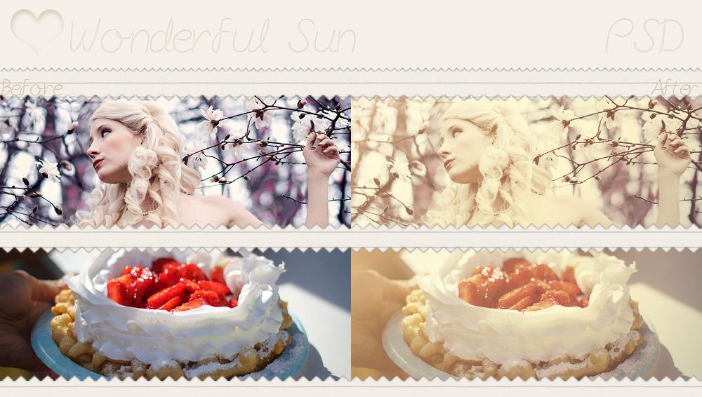 Wonderful Sun - PSD by SoeriRukz