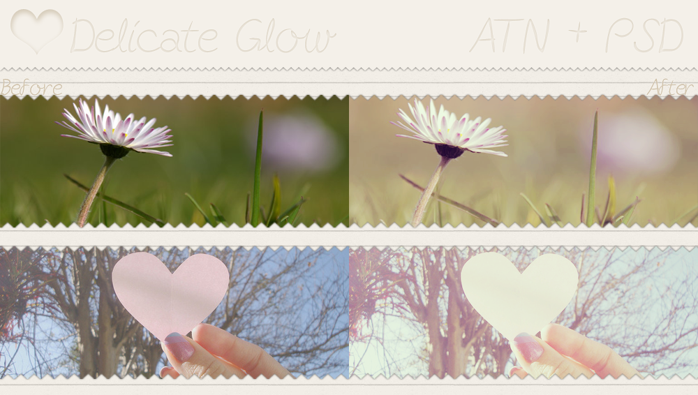 Delicate Glow - PSD and ATN by SoeriRukz on DeviantArt