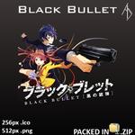 Black Bullet Icon