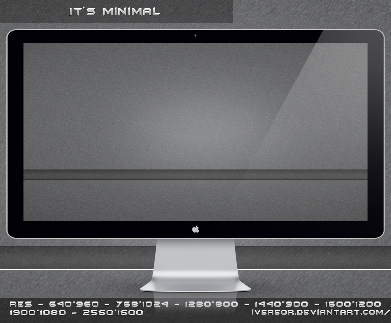It's Minimal by iVereor