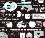 Monokuro Boo Skin by Ethreal-Reflection