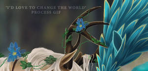 Process of 'i'd love to change the world'