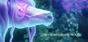 Process of STARS FROM OUR EYES