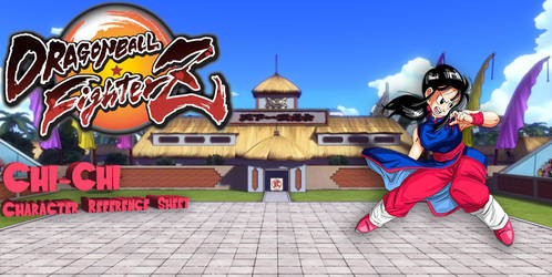 Chi-Chi for Dragon Ball: FighterZ(Moveset Concept)