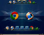 More GoogleChrome and FF icons