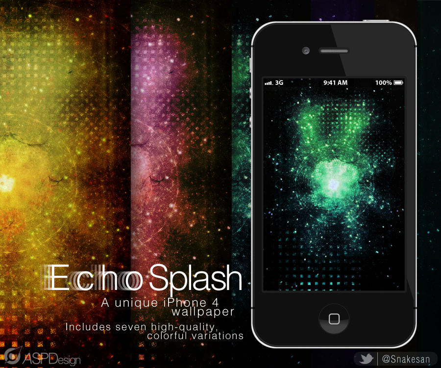 Echosplash! iPhone Wallpapers by Snakesan