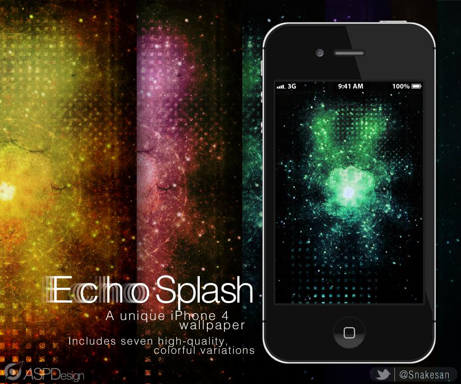 Echosplash! iPhone Wallpapers by Snakesan