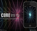 Core Vortex iPhone 4S Wallpaper