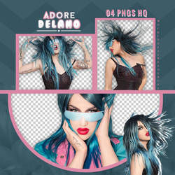Pack Png: Adore Delano #461
