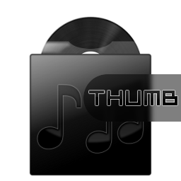 Dark Musicfolder Icon by hypercrites