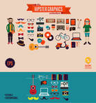 the Hipster Graphics collection