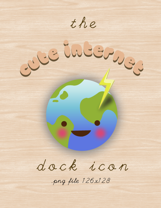 Cute Internet Icon by cutecutemonster