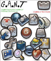 G.A.N.T for IconPackager by DR3AMS1nD1G1TAL