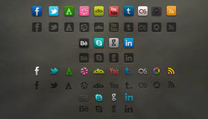 Socialis Media Icon PSD by vesperTiLo