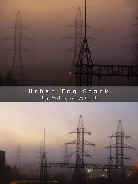 Urban Fog Stock Pack by SilaynneStock