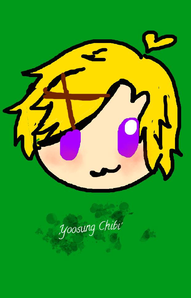 Yoosung chibi by StarZCandy03