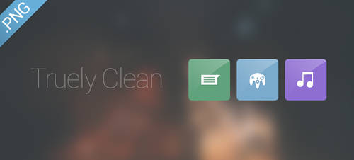 Truely Clean Icons by FFra