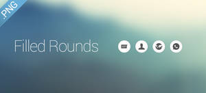 Filled Rounds Icons [Updated Version]