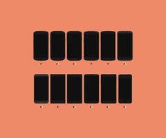 Free Flat Smartphones Pack [PSDs] by FFra