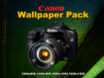 Canon DLSR Wallpaper Pack by reezluv