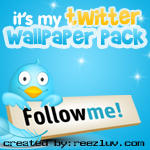 My Twitter Wallpaper pack by reezluv
