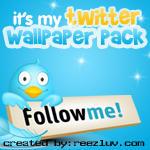 My Twitter Wallpaper pack by reezluv
