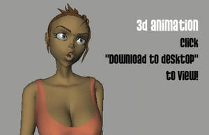 3D ANIMATION Pissed Off Babe by Balak01