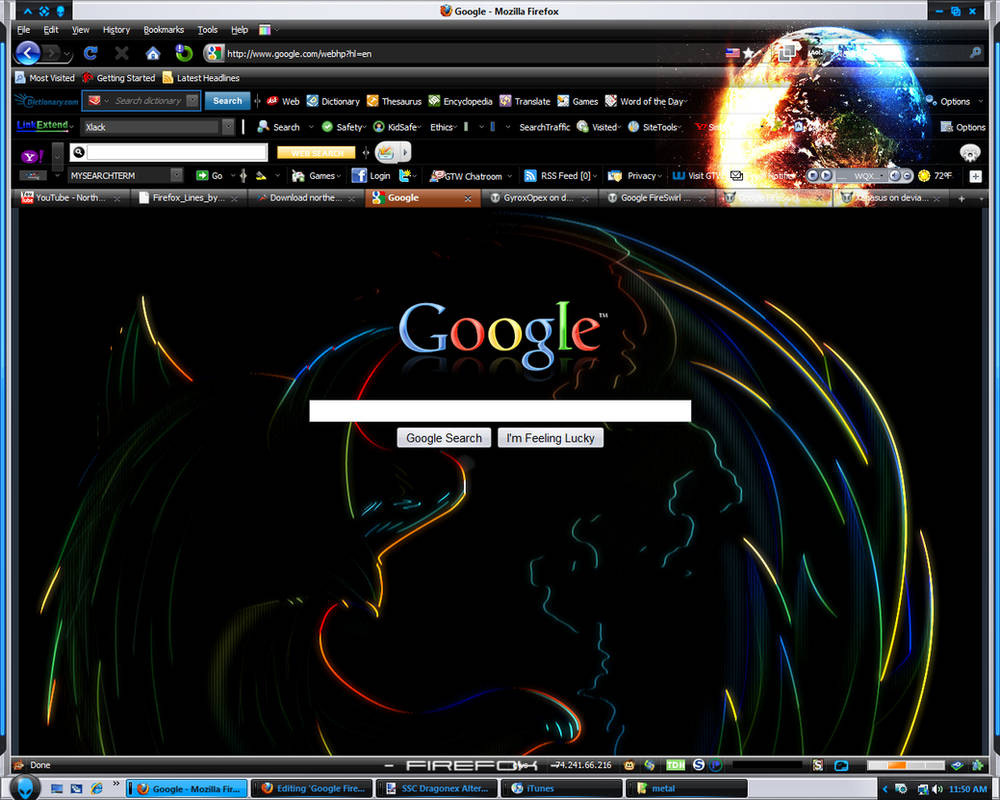 Google Firefox Outline Theme by GyroxOpex on DeviantArt