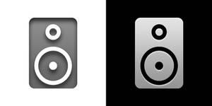 Speaker Icon - Token Theme [TJSidhu]