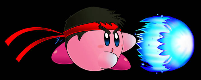 Kirby the streetfighter
