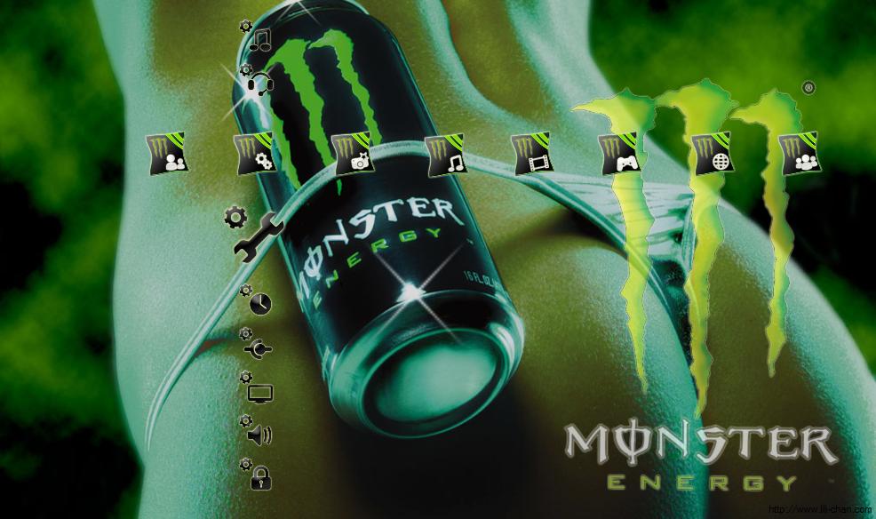 monster energy v3 ps3 theme by effecktz on deviantart