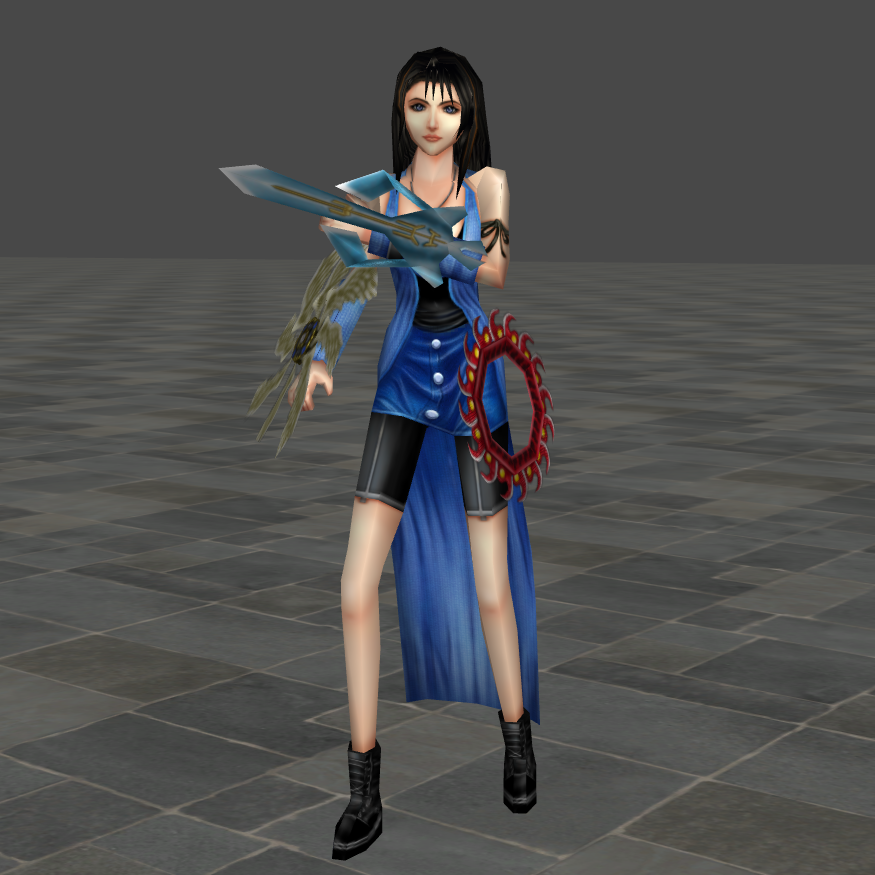 Hd Final Fantasy Wallpaper: Rinoa HD (FFVIII) By RyuAensland On DeviantArt