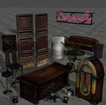 DMC4 Shop Furniture and Items