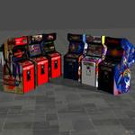Arcade machines (customized)