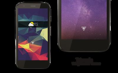 Triangle - Widgetlocker Theme by vikkimnm