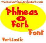 Phineas y Ferb FONT