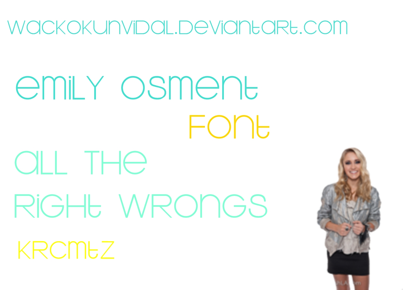 Emily Osment FONT