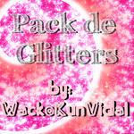 pack de glitters
