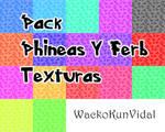 Pack Texturas de Phineas y Ferb