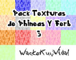 Pack Texturas de Phineas y Ferb 3