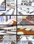 [MMD/3DCG] Mall Stage DL