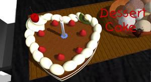 [MMD] Dessert Cake DL