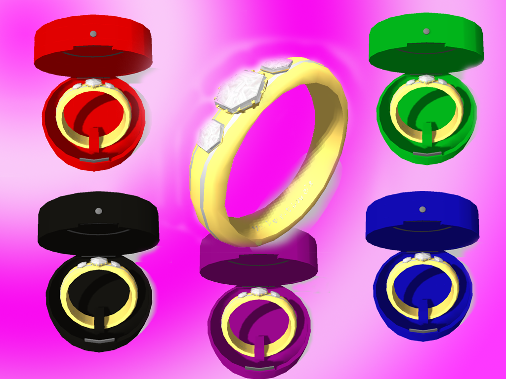 MMD] Diamond Ring and Box DL by OniMau619 on DeviantArt