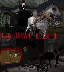[MMD] Horse Drawn Hearse DL by OniMau619